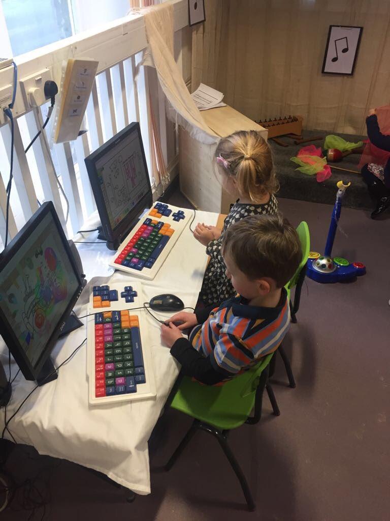 Nursery on computers