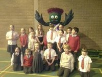 Commonwealth Games Mascot visits Eastern